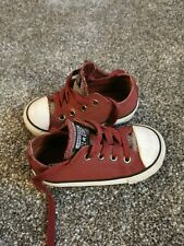 Girls converse size 6 infant