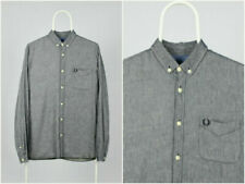 Fred Perry Long Sleeve Slim Casual Shirts & Tops for Men