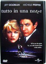 Dvd Tutto in una notte di John Landis 1984 Usato raro fuori cat.