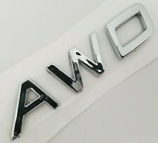 AWD LETTERS FOR VOLVO Trunk tailgate liftgate Emblem Badge Nameplate v60 xc90 40