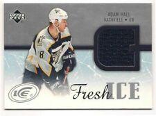 Adam Hall 05-06 Upper Deck Ice Fresh Ice Game Jersey