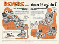 1955 Revere Ware Stainless Steel / Copper Kitchen Pots Sets Gift Set Brochure