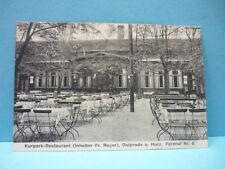 AK (566) Osterode a. Harz-Kurpark Restaurant-gelaufen-1924