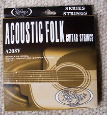 Roling's A208V muta completa corde 012/053 per chitarra Folk-Acustica