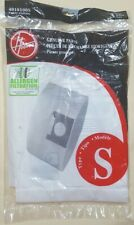 HOOVER Type S 4010100S ALLERGEN FILTRATION Vacuum Cleaner Bags 3 Pack Traps 99%