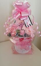 Baby Bouquet of Baby Clothes, Baby Shower Gift, Nappy Cake, Baby Girl, New Baby