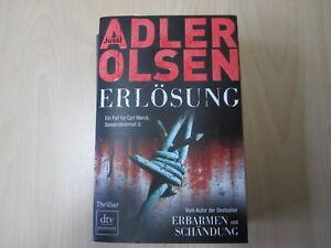 Jussi Adler Olsen - ERLÖSUNG - Ein Fall für Carl Morck 3 - dtv - PB - (15466)
