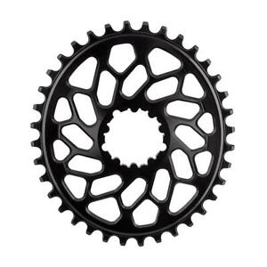 Absolute Black Oval GXP & BB30 DM NW CX Chainring 1/9/10/11/12-Speed 36T Black