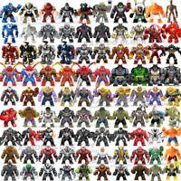 Lego Custom Big Size Marvel Avengers DC Super Hero Mini Figures Toys For Kids