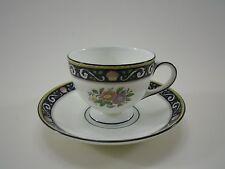 Wedgwood RUNNYMEDE BLUE blau Kaffeetasse Tasse Untertasse cup saucer