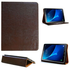 """Leather Cover for Samsung Tab A 10.1 """" with S-Pen (P585,580) Protective Case"""