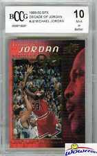 1999/00 UD SPX Decade of Jordan #J9 Michael Jordan BECKETT 10 MINT Bulls HOF