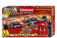 Carrera GO!!! 62505 Ferrari Race Spirit 1/43 Slot Car Racing Set