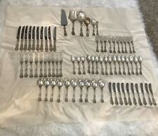 66 - Pc.Reed & Barton Francis I Sterling Silver Flatware plus 6 serving pieces