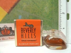 VINTAGE BEVERLY HILLS by GALE HAYMAN GLAMOUR PERFUME MINIATURE 0.10 oz - 3 ml