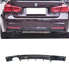 FRP Rear Bumper Diffuser Lip Gloss Black For BMW F30 320i 325i 328i 335i M Sport