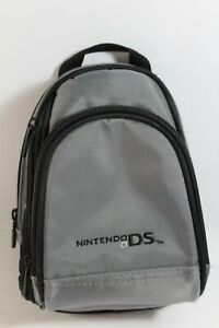 Nintendo DS Mini Backpack Carrying Case Backpack Grey