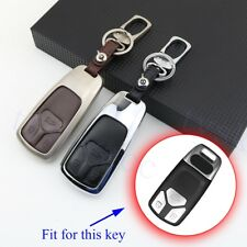 Remote Key Bag Case Holder Shell Cover For Audi A4L A4 Q7 TT TTS RS Accessories