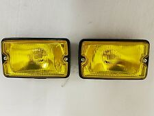 Peugeot 205 GTI driving lights lamps NEW YELLOW GLASS