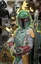 Boba Fett Empire Strikes Back Han Solo Star Wars 11 x 17 High Quality Poster