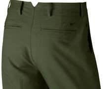 Nike Tiger Woods TW Adaptive Fit Woven Golf Pants MSRP $ 130  Olive Green 38x32