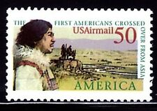 ESTADOS UNIDOS 1991 TEMA UPAEP A-124 THE FIRST AMERICANS CROSSED OVER FROM ASIA