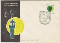 Polish 1959 International Conference of Cornikow  FDC Stamps Cover ref 23000
