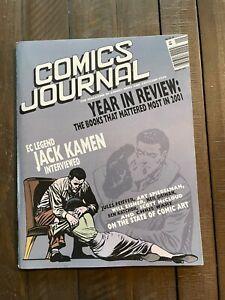 The Comics Journal #240-2002-Jack Kamen interview-EC-Year in Review-Will Eisner