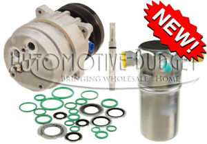 A/C Compressor Kit for Chevrolet S-10 GMC Sonoma Isuzu Hombre w/2.2L Engine