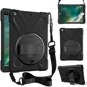 360 heavy duty case for New iPad 2017/2018 (5th / 6th gen) 9.7'' -shoulder strap