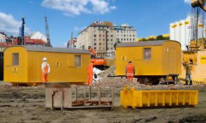 H0 Équipement de Site Construction,Maquettes Monde Kit Construction 1:87,Kibri
