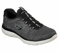 Skechers Sport Mens SUMMITS FORTON Sneakers Men Schwarz/Weiß