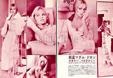 1967, Nathalie Delon Japan Vintage Clippings 1sc8