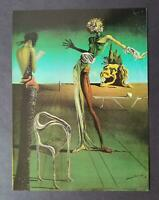"""Salvador Dali """"The Head of The Rose"""" Mounted Offset Color Lithograph 1980"""
