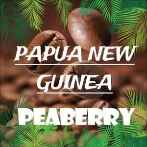 2.5 lbs. Papua New Guinea Peaberry from the Jikawa/Western Highlands Fresh Crop