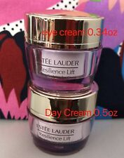 Set of Estee Lauder Resilience Lift Firming Face cream .5oz + Eye .34 oz New
