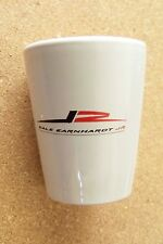 Dale Earnhardt Jr. 8 white shotglass shot glass round