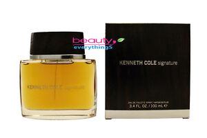 Kenneth Cole Signature 3.4oz / 100ml EDT Spray NIB Sealed Men's Cologne
