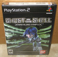 Ghost in the Shell Stand Alone Complex (Sony PlayStation 2, 2004) PS2 New Sealed