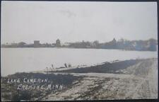 ERSKINE MN ~ 1915 LAKE CAMERON ~ TOWN VIEW ~ Real Photo PC  RPPC