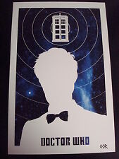 Doctor Who 11th poster print