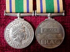 Replica Copy Iraq Reconstruction Medal Full Size