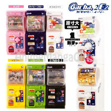 6X Multi-Color Gacha2EZ Mini Capsules Vending Machine TAKARA TOMY ARTS JAPAN