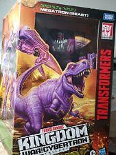 Transformers Generations War for Cybertron Kingdom Leader Megatron WFC-K10