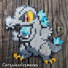 Godzilla Totodile Pokémon Pixel Art Perler Bead Art