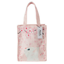 Starbucks 2017 Paul Joe PJ tote bag with Cherry Blossom Kitten Sakura limited