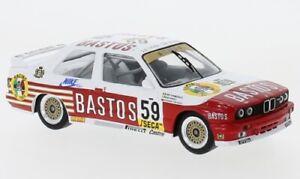 BMW M3 (E30), No.59, Bastos, WTCC, 24h Spa, 1:43, IXO