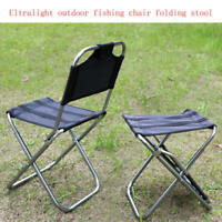 Lightweight Mini Folding Chairs Outdoor Portable Camping Picnic Fishing Stool