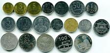 UZBEKISTAN FULL SET OF 19 COINS 1-50 Tiyin(1994years) 1-500 Sum (1997-2011years)