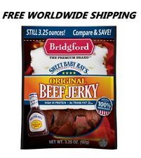 Sweet Baby Ray's Original Beef Jerky 3.25 Oz FREE WORLDWIDE SHIPPING